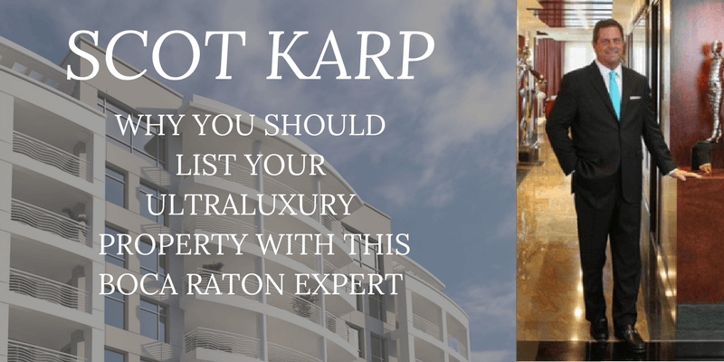 Scot Karp Boca Raton Real Estate Agent