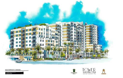Tower 155 New Construction in Boca Raton